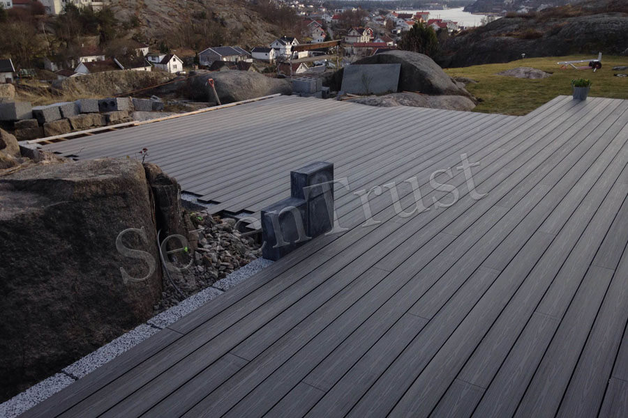 Silent plastic wood composite flooring provides more possibilities for the market