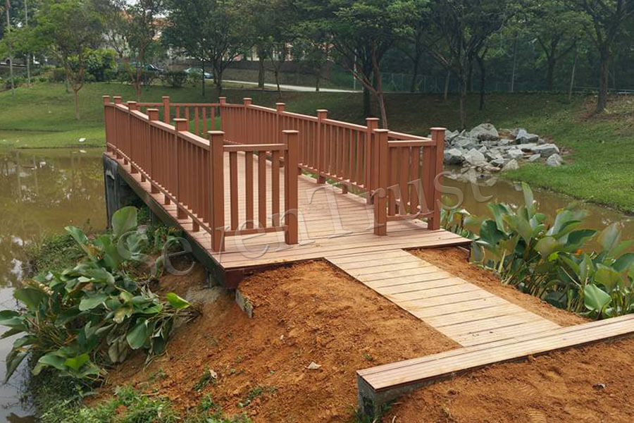 Performance of wood plastic composite decking