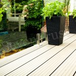 Home furnishing materials have four significant characteristics, which are worthy of wood plastic composite materials