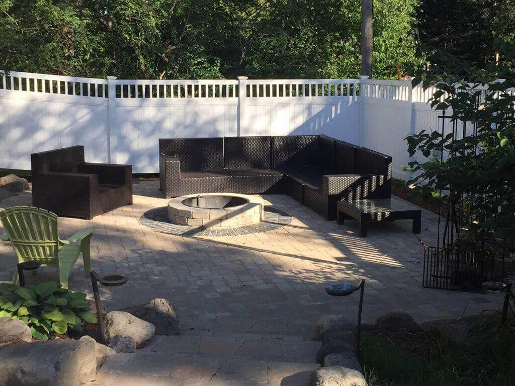 PVC Fence for Garden