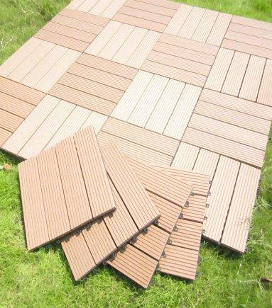 Composite Interlocking Floor Tiles