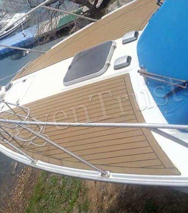 Synthetic Teak Boat Decking