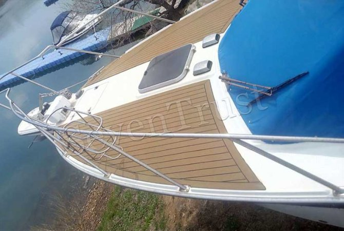 Synthetic Teak Boat Decking