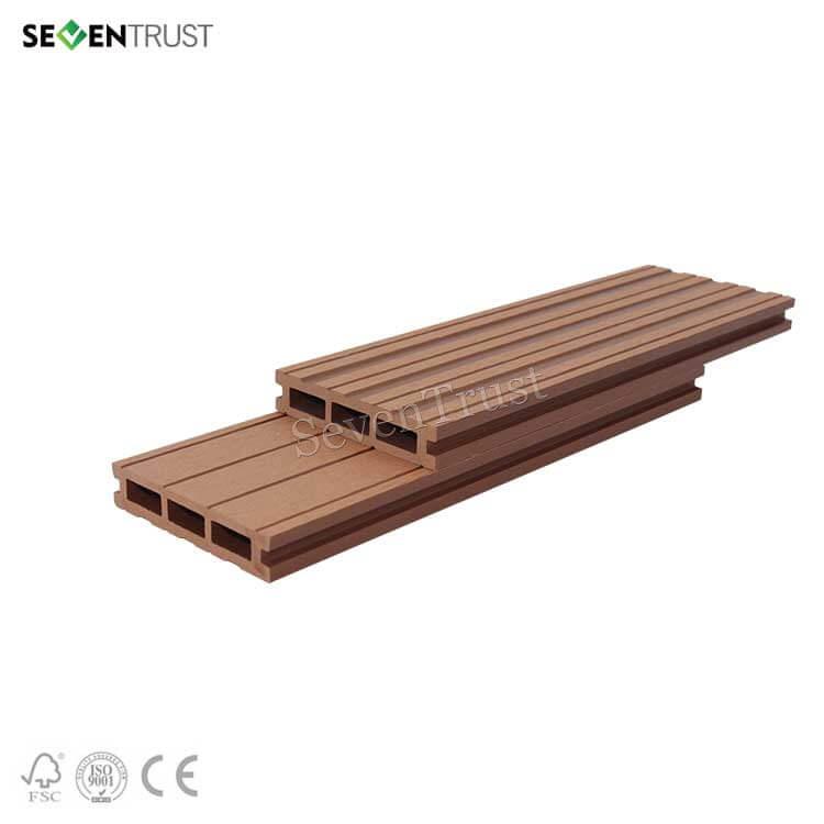 Wood Plastic Composite Decking Boards