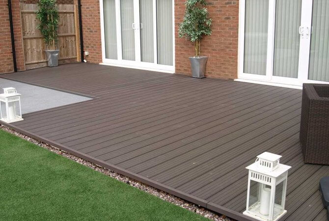 Three precautions for installing ventilated and waterproof wood plastic composite outdoor flooring