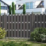The application of wood plastic composite fence in urban landscape