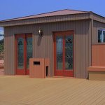 Quickly promote plastic wood composite houses