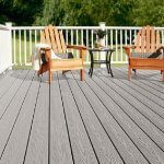 Wood plastic composite flooring has superior environmental performance