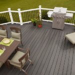 Balcony design and transformation, wood plastic composite material shows advantages
