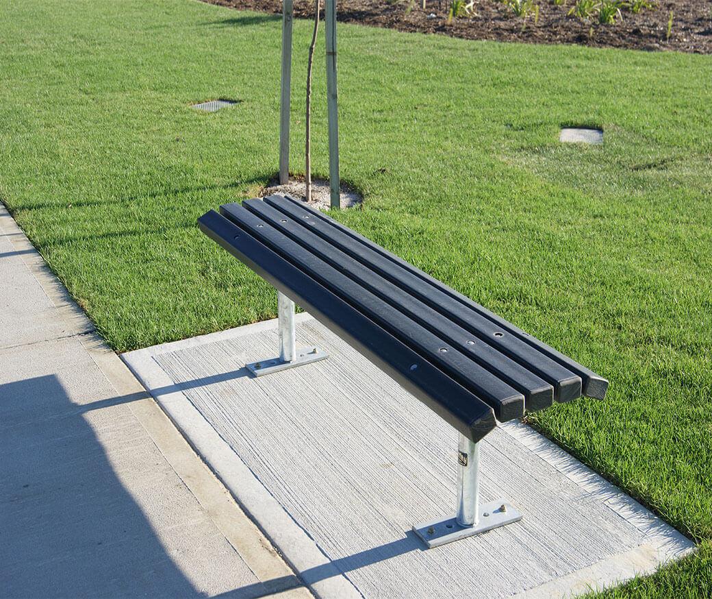 Wood Plastic Composite Bench