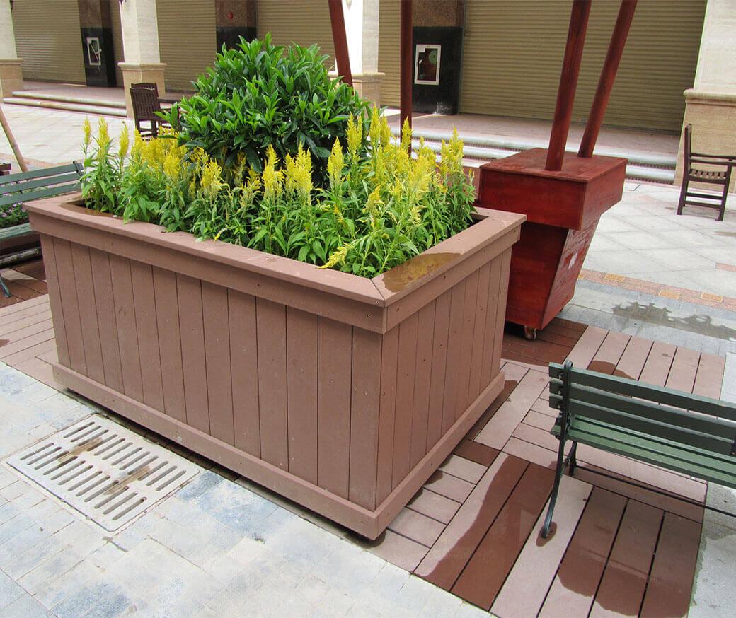 WPC Landscape Flower Boxes