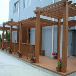 Wood plastic composite products