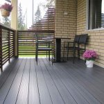 Plastic wood composite flooring has become the mainstream profile of garden wood
