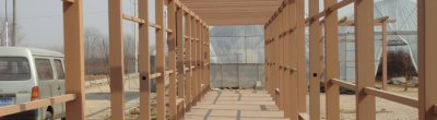 Thermoplasticity of plastic wood composites