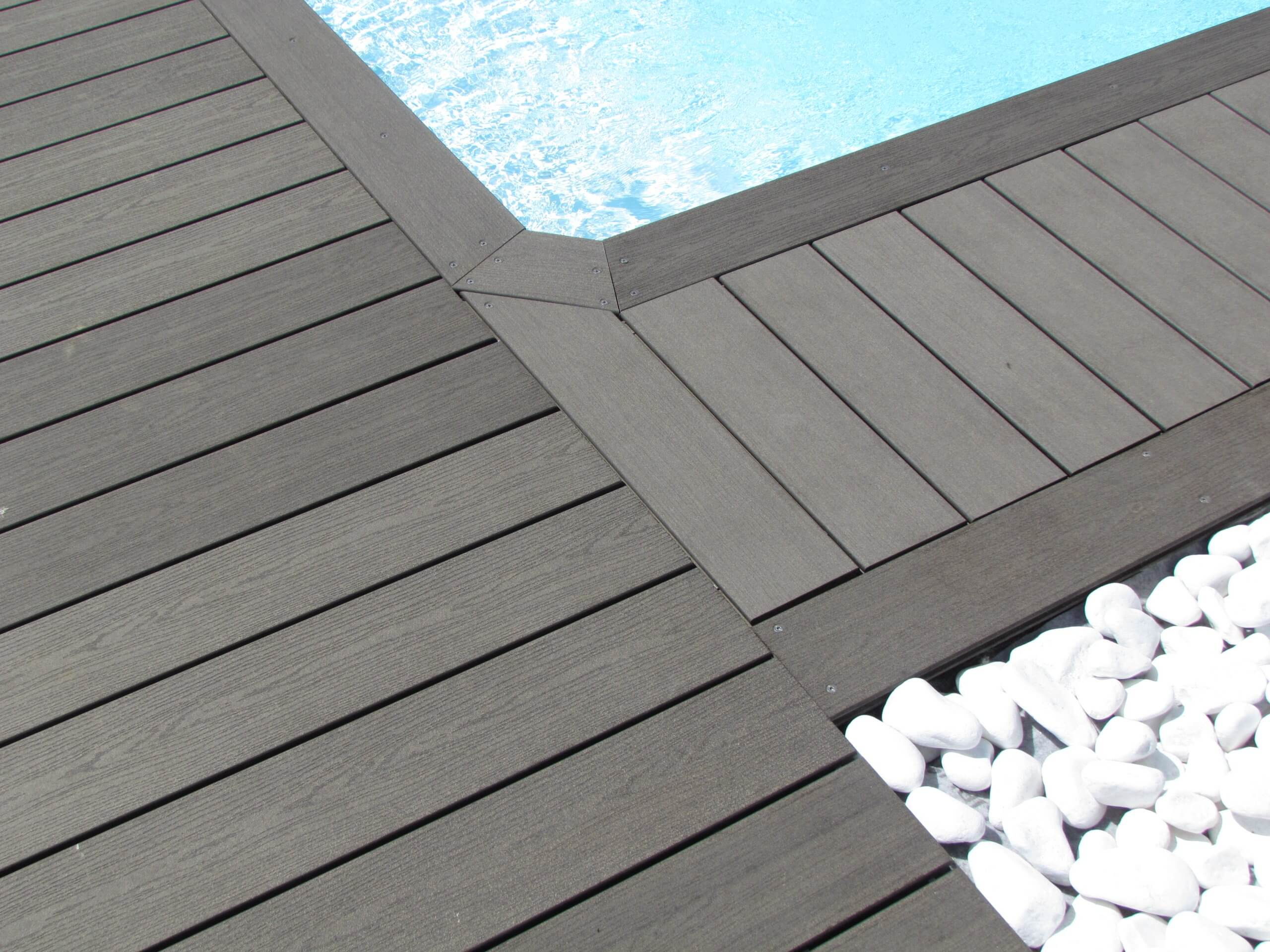 What is the development demand for wood plastic compositeflooring