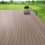 Wood plastic compositefloor maintenance