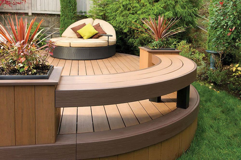 Is the plastic wood compositeflower box an environmentally friendly material?