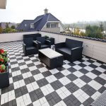 What are the practical applications of wood plastic composite flooring