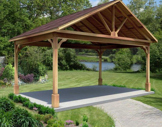 Characteristics, advantages and techniques of wood plastic pavilions