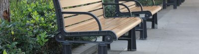 Features Of Wood Plastic Park Chairs