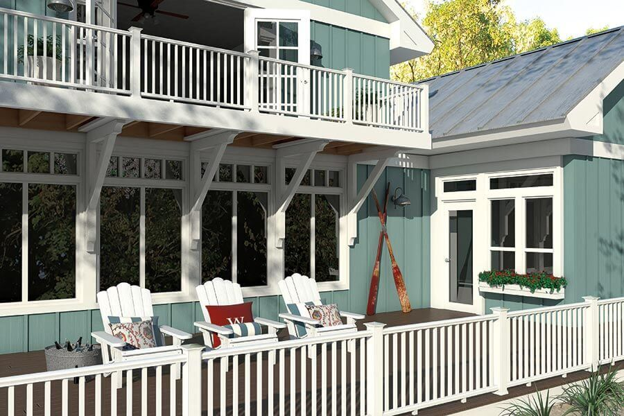The reason why wood plastic railings are more and more popular